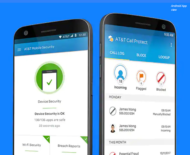 AT&T Mobile Security and Call Protect
