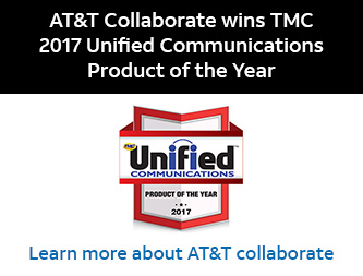 AT&T Collaborate wins TMC 2017 Unified Communications Product of the Year