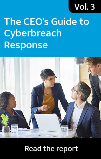 Vol. 3: The CEO's Guide to Cyberbreach Response