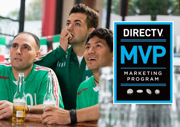 DIRECTV MVP Marketing Program hero image